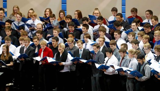 UNK honor band, choral concert features 120 schools, 775 students