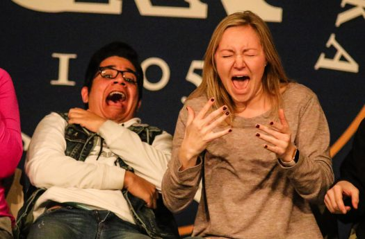 PHOTO GALLERY: Hypnotist Jim Wand performs at UNK for 30th year in a row