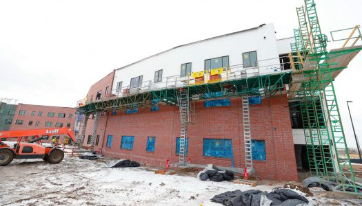 CONSTRUCTION UPDATE: Village Flats work moves inside as UNK eyes summer opening