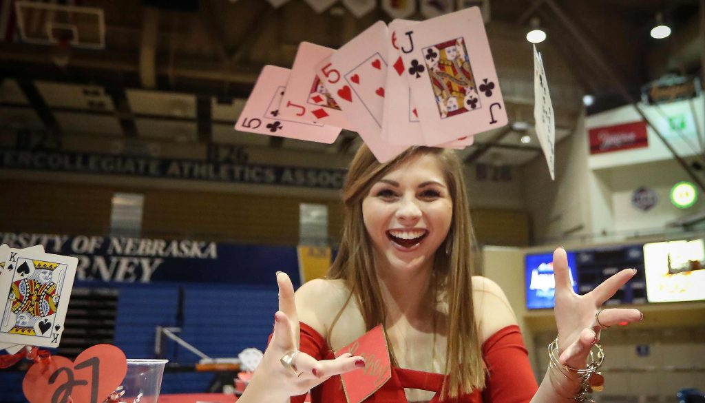 Red Dress Poker Tournament is March 1