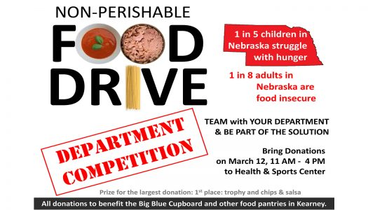 Food drive aims to collect items for UNK, Kearney pantries