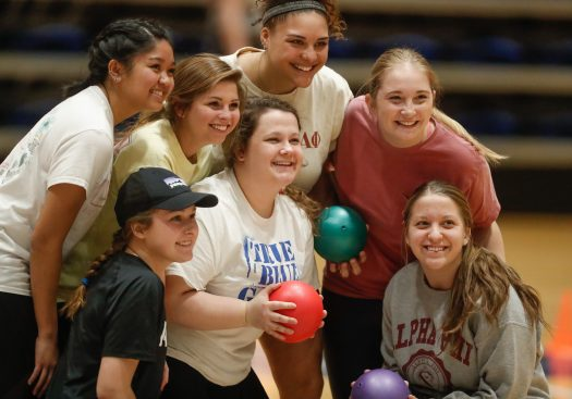 PHOTO GALLERY: Alpha Omicron Pi Strike Out Arthritis Dodgeball Tourney