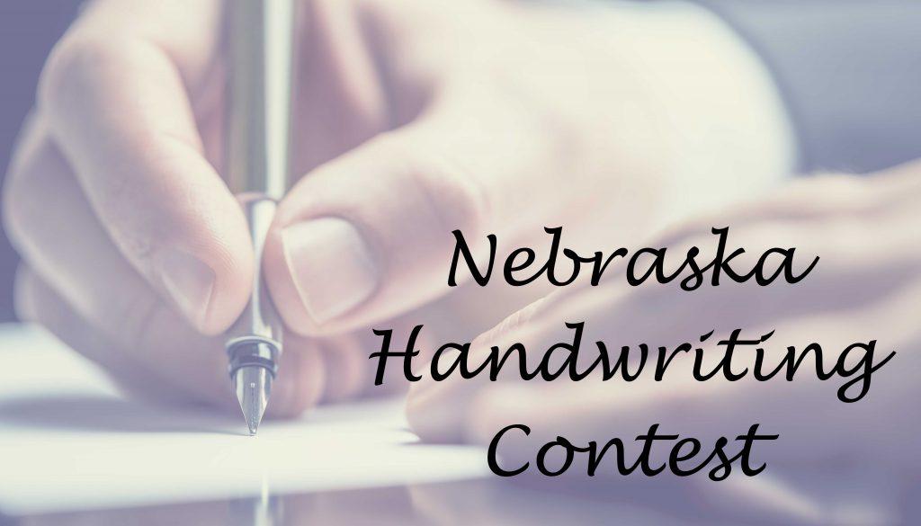 Handwriting Contest Logo