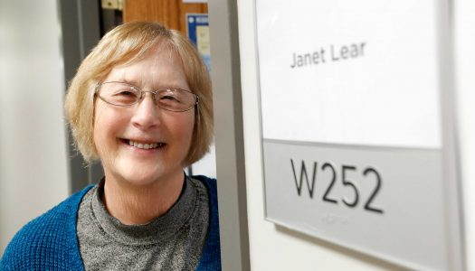 Janet Lear fell in love with teaching at UNK; retiring after 17 years