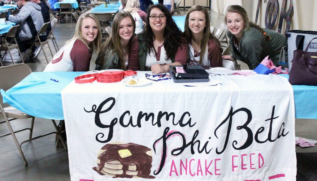 Gamma Phi Beta pancake feed