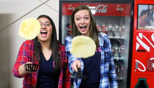 Gamma Phi Beta pancake feed benefits Girls on the Run, Rae of Hope Foundation
