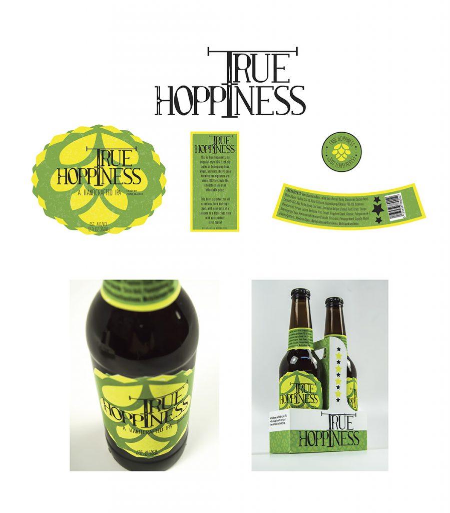 SILVER - Hannah DeWald – Packaging – True Hoppiness