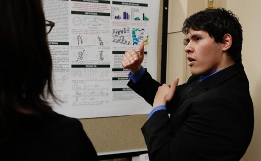 Can social media cause depression? One of many UNK projects unveiled at Student Research Day