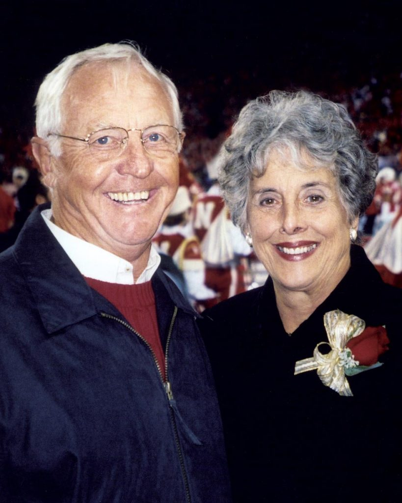 Richard and Barbara Bush of Kearney
