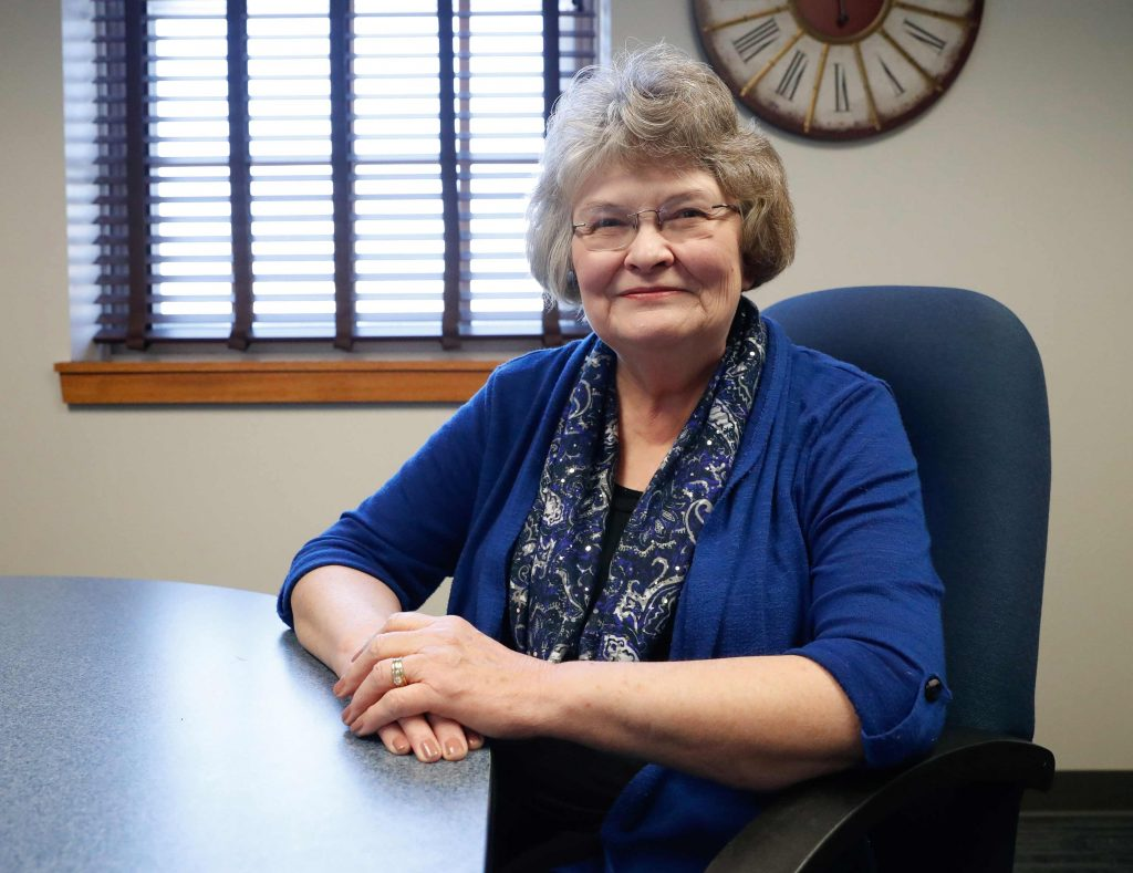 """I'm long past retirement age, but I've stayed because of the people,"" Connie Fie said. ""I just have a great department and great people to work with. They're my friends."""