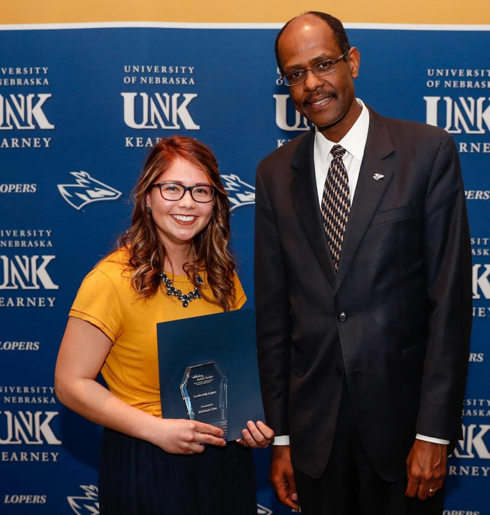 Leadership Legacy Award - McKenzie Cuba