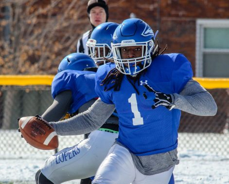 PHOTO GALLERY: UNK Football Scrimmage 4-7-18