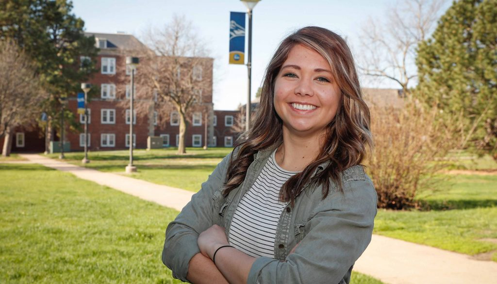 """This is your home when you come here,"" said McKenzie Cuba, calling her enrollment at UNK the best decision she's ever made."