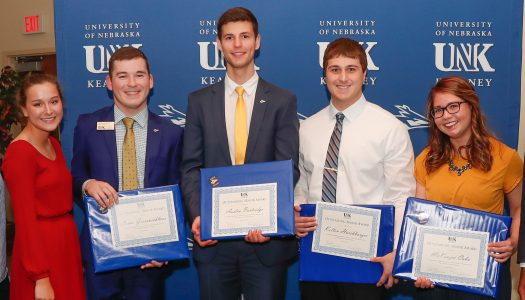 UNK Alumni Association recognizes five Outstanding Seniors