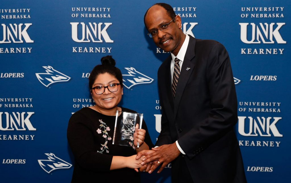 Outstanding Student Employee for Community Service - Neli Morales