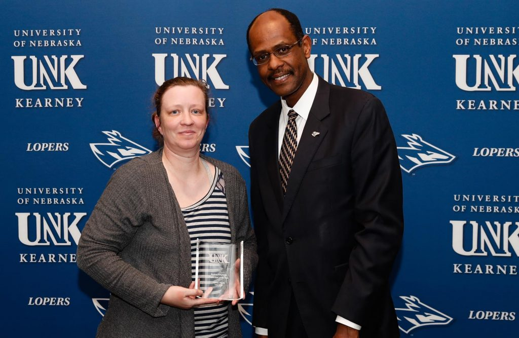 Student Employee Supervisor of the Year - Tiffany Shultz