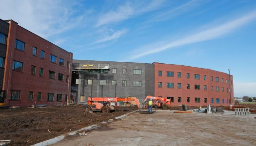 CONSTRUCTION UPDATE: Village Flats residence hall nearing August completion