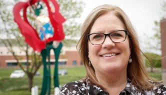 Outreach, enrollment important to new UNK Faculty Senate President Grace Mims