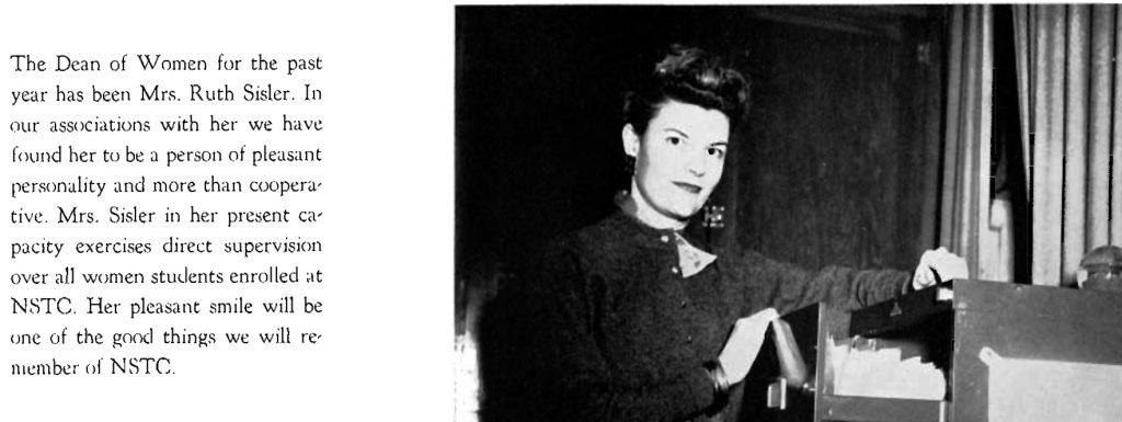 Ruth Sisler 1957
