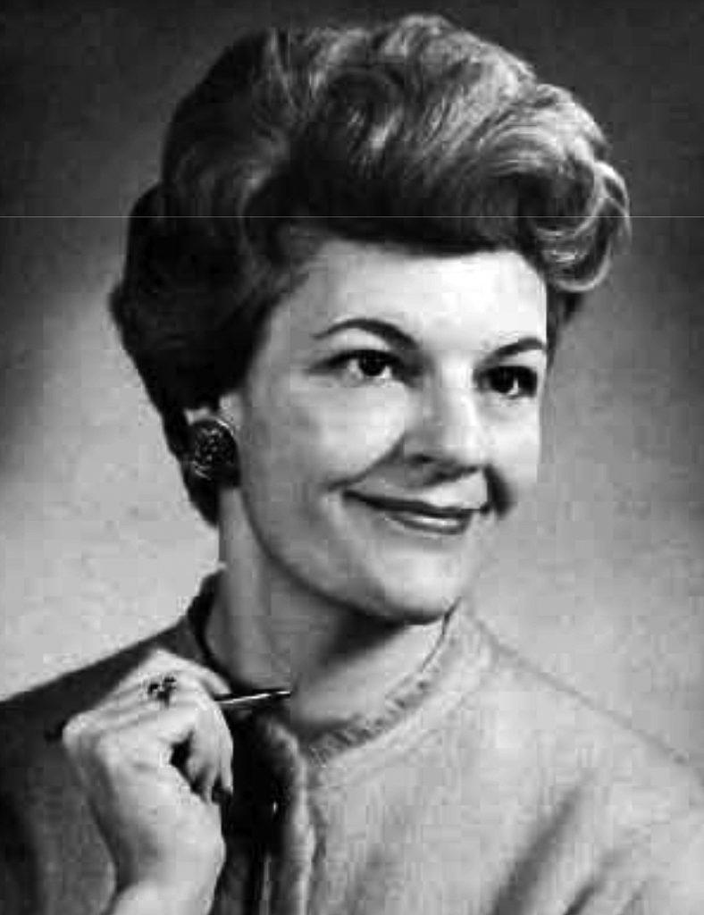 Ruth Sisler 1964
