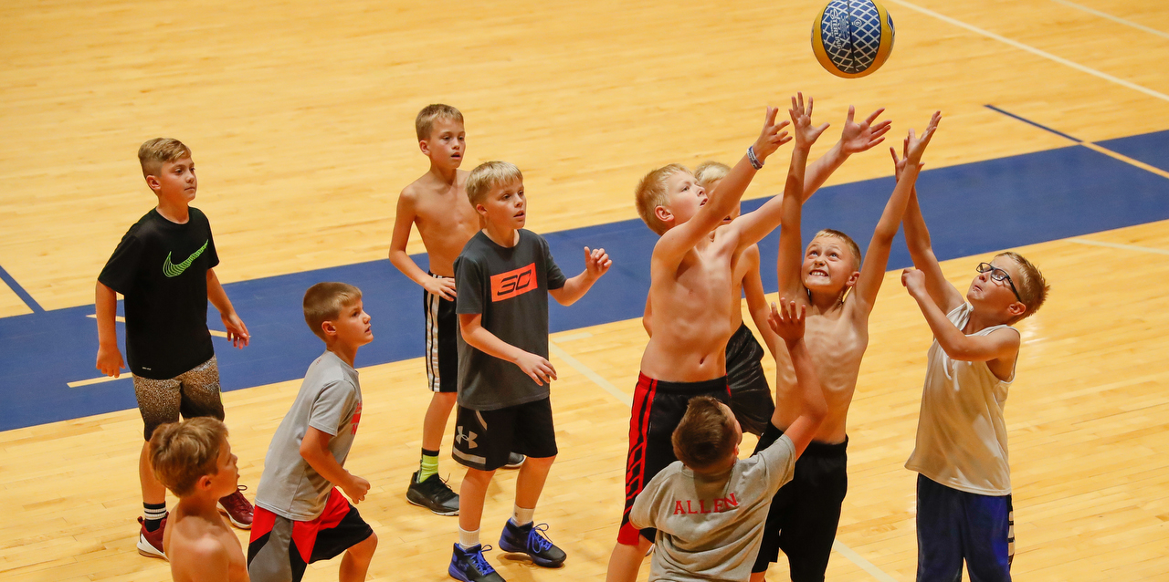 UNK elementary basketball camp image