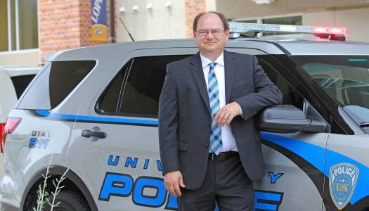 UNK Police Chief Jim Davis recognized by US Attorney's Office