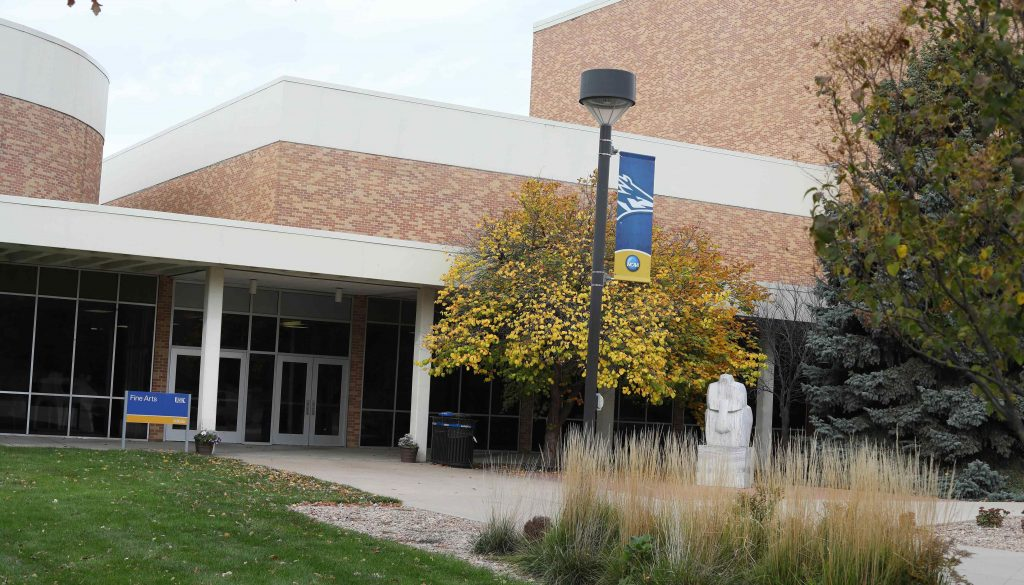 "UNK's Fine Arts Building opened in December 1969 and was built for $1.6 million. The ""Art Wing"" addition was built in 1978."