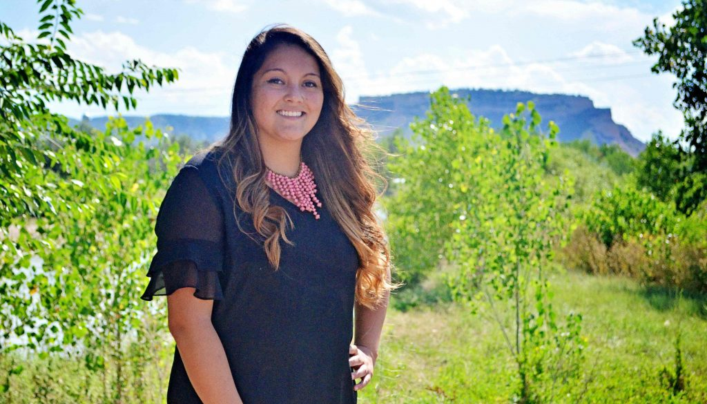 Scottsbluff native Maricia Guzman is the student speaker for Friday's summer commencement at UNK's Health and Sports Center. Guzman earned a Master of Science in Education degree in student affairs through UNK's online program. (Photo courtesy of Maunette Loeks, Scottsbluff Star-Herald)