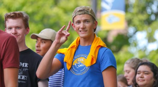 PHOTO GALLERY: UNK Blue Gold freshmen parade, welcome convocation