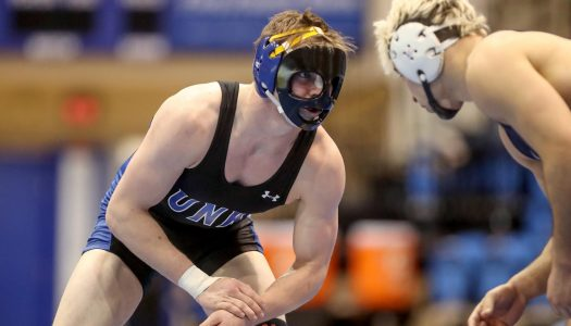 From Alaska to UNK: Isaac Deaton wrestles and works construction
