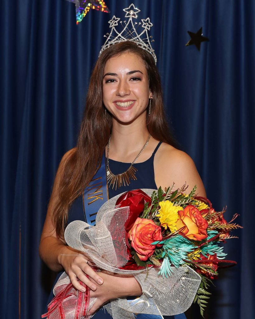 This year's homecoming celebration came with an unexpected bonus for Anna Wegener, as she was crowned UNK's homecoming queen during the Sept. 13 coronation.