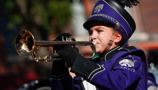 UNK Band Day celebrates 60 years; Saturday parade features 18 area bands