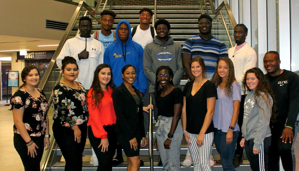 UNK's Black Student Association has re-established itself on campus after being inactive for three years. In 2017 the organization was named UNK's New Student Organization of the Year. (Photo by Corbey R. Dorsey, UNK Communications)