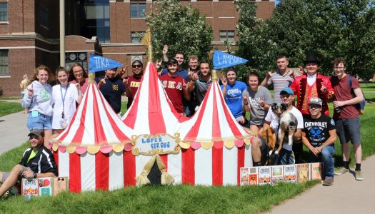PHOTOS: UNK Homecoming Lawn Display Contest