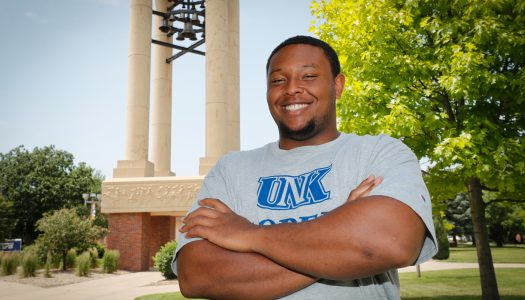 Leo Wilson 'beats the odds' with academic support from UNK Learning Commons, TRIO