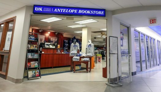 UNK relocating Antelope Bookstore during renovation work; Transition begins Oct. 15