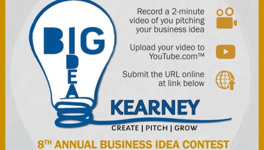 Pitch your business idea during Big Idea Kearney; Entries due Oct. 18