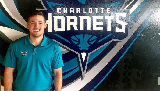 UNK graduate Derek VanLaningham joins NBA's Charlotte Hornets during internship
