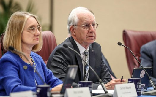 VIDEO: Bob Whitehouse awarded 'Regent Emeritus' status at NU Board of Regents meeting in Kearney