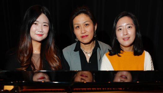 South Korean students Lee, Kim share musical talents at UNK
