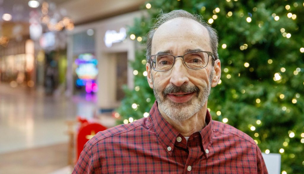 UNK marketing professor Greg Broekemier says holiday music can help boost retail sales by putting shoppers in a good mood. (Photo by Corbey R. Dorsey, UNK Communications)