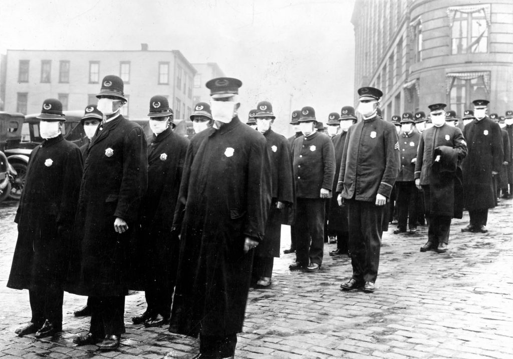 The 1918-19 influenza pandemic killed 50 million people and is one of the deadliest disease outbreaks in history. UNK's Frank Museum will host an event discussing its impact on the Midwest at 6 p.m. Thursday. (Courtesy photo)