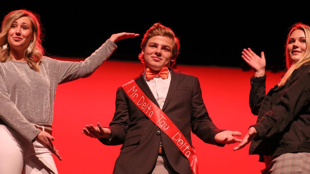 Joe Griffith of Kearney, with Delta Tau Delta, was voted Mr. Congeniality.