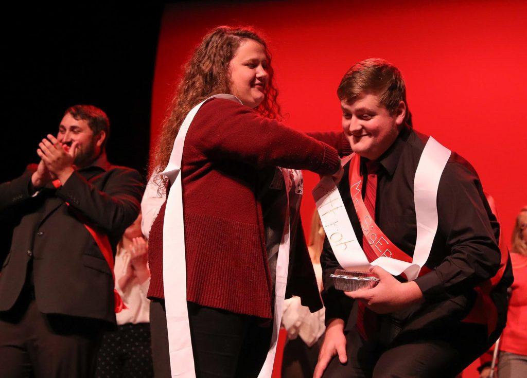 Mr. Heartthrob was given to Sigma Phi Epsilon's Haden Scherbarth of Bayard