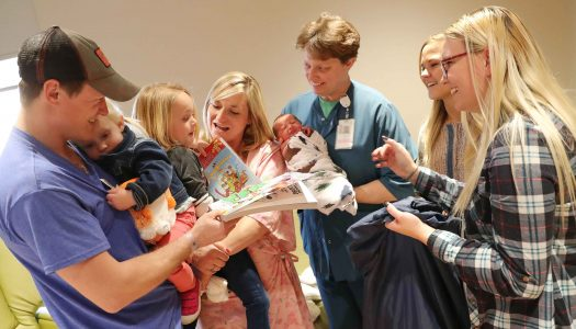UNK students surprise Kearney Regional Medical Center patients with holiday gifts