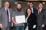 James Lester receives KUDOS award from NU Board of Regents