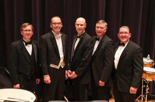 Current, former UNK band directors come together for unique concert