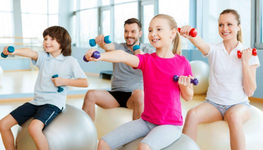 Looking to get healthier? UNK program helps families exercise more, eat better