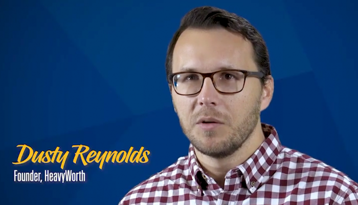 UNK Alumni Spotlight VIDEO: Yutan entrepreneur, HeavyWorth founder Dusty Reynolds
