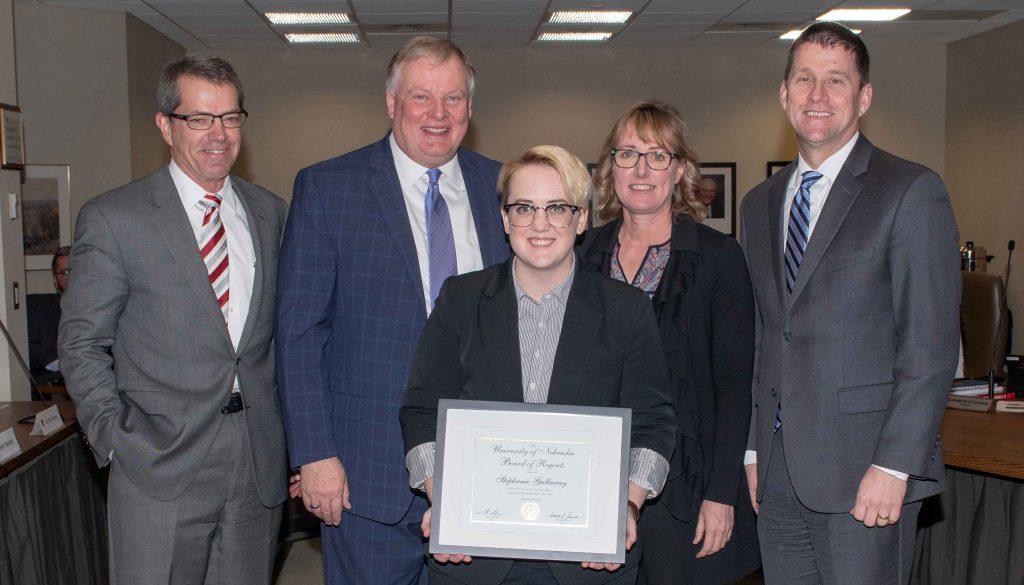 Steph Gallaway Kudos Award